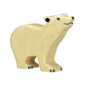 Holztiger Isbjörn Unge Med Höjt Huvud 80209