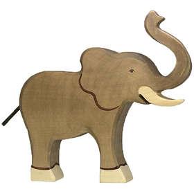 Holztiger Elefant Höjd Snabel 80148