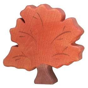 Holztiger Träfigur Träd I Höstskrud 80224