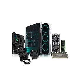 Komplett PC i delar Ryzen Pro Gamer 2600X - 3,6GHz HC 16GB 512GB