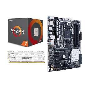 Komplett Uppgraderingspaket - 3,4GHz OC 16GB