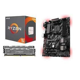 Komplett Uppgraderingspaket - 3,6GHz HC 16GB