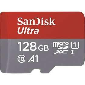 SanDisk Ultra microSDXC Class 10 UHS-I 100MB/s A1 128GB