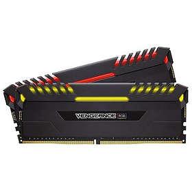 Corsair Vengeance Black RGB LED DDR4 3600MHz 2x8GB (CMR16GX4M2C3600C18)