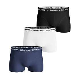 Björn Borg Noos Solids Short Shorts 3-Pack