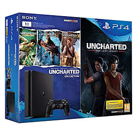 Sony PlayStation 4 Slim 1To (+ Uncharted Collection + The Lost Legacy)