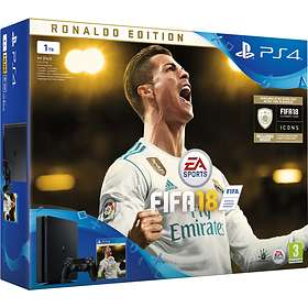 Sony PlayStation 4 Slim 1TB (inkl. FIFA 18 - Ronaldo Edition)