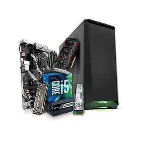 Komplett PC i delar Månadens gamer Augusti - 3,5GHz QC 16GB 256GB