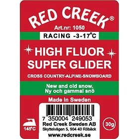 Red Creek Racing HF Green Wax -17 to -3°C 70g