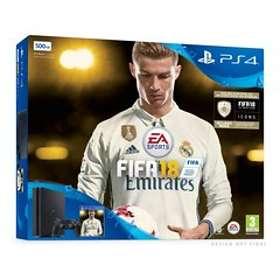 Sony PlayStation 4 Slim 500GB (incl. FIFA 18 - Ronaldo Edition)