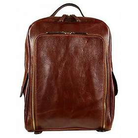 Time Resistance The Sun Also Rises Genuine Leather Backpack
