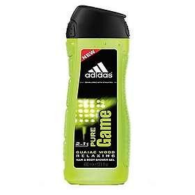 Adidas Pure Game Relaxing Hair & Body & Shower Gel 400ml