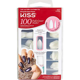 Kiss Nails Full Cover False Nails 100-pack