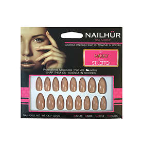 Nailhur Stiletto False Nails 24-pack