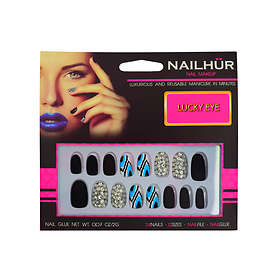Nailhur Oval False Nails 24-pack
