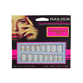 Nailhur Square False Nails 24-pack