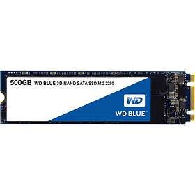 WD Blue 3D NAND SSD M.2 500Go