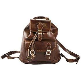 David Van Hagen Leather Backpack (049171)