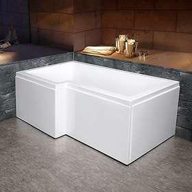 Bathlife Badkar Behag Vänster 170x85 (Vit)