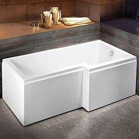 Bathlife Badekar Behag Høyre 150x85 (Hvit)