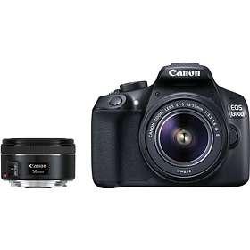 Canon EOS 1300D + 50/1,8 STM