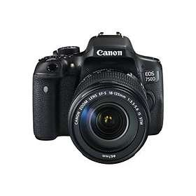 Canon EOS 750D + 18-55/3,5-5,6 IS STM + 50/1,8