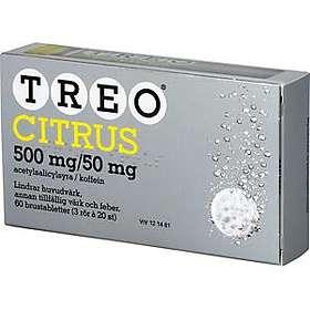 Meda Treo Citrus 500mg/50mg 60 Tabletter