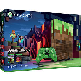 Microsoft Xbox One S 1TB (inkl. Minecraft) - Limited Edition