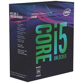 Intel Core i5 8600K 3,6GHz Socket 1151-2 Box without Cooler