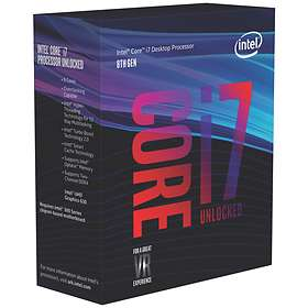 Intel Core i7 8700K 3,7GHz Socket 1151 Box without Cooler