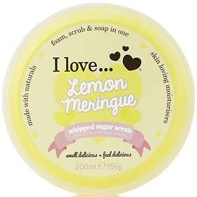I Love... Lemon Meringue Sugar Body Scrub 200g