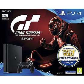 Sony PlayStation 4 Slim 500GB Incl Gran Turismo Sport