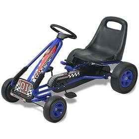 vidaXL Pedal Go-kart w/ Adjustable Seat