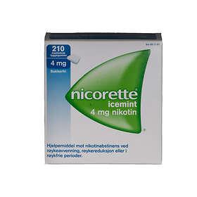 McNeil Nicorette Icemint Tyggegummi 4mg 210stk