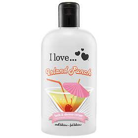 I Love... Island Punch Bath & Shower Cream 500ml