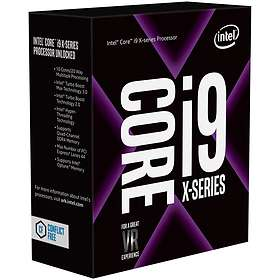 Intel Core i9 7940X 3,1GHz Socket 2066 Box without Cooler