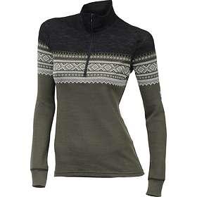 Aclima Designwool Marius Mock Neck LS Shirt Half Zip (Dame)