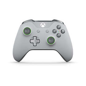 Microsoft Xbox One Wireless Controller S - Grey/Green (Xbox One/PC)