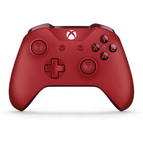 Microsoft Xbox One Wireless Controller S - Red (Xbox One/PC)
