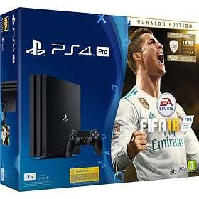 Sony PlayStation 4 Pro 1TB (inkl. FIFA 18 - Ronaldo Edition)