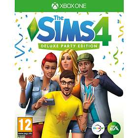 The Sims 4 - Deluxe Party Edition (Xbox One)