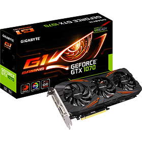 Gigabyte GeForce GTX 1070 G1 Gaming Rev2 HDMI 3xDP 8GB