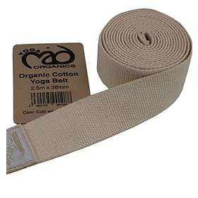 Yoga-Mad Organic Cotton Yoga Belt 250cm