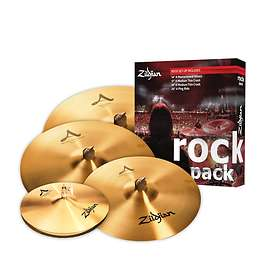 Zildjian A Rock Music Pack (14/17/19/20)