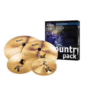 Zildjian K Country Music Pack (15/17/19/20)