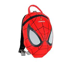 LittleLife Spiderman Toddler Backpack With Rein