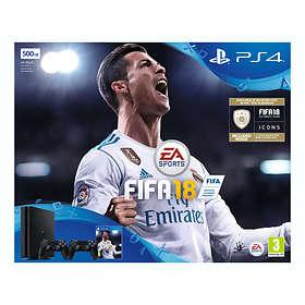 Sony PlayStation 4 Slim 500GB (incl. FIFA 18 + 2nd DualShock V2)