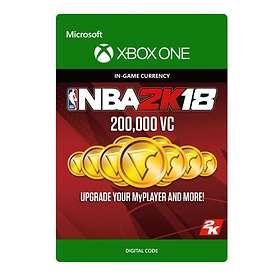 NBA 2K18 - 200,000 VC (Xbox One)