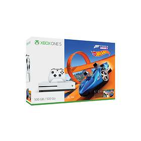 Microsoft Xbox One S 500GB (inkl. Hot Wheels + Forza Horizon 3)