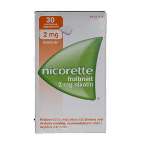 McNeil Nicorette Tyggegummi Fruitmint 2mg 30stk